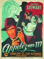 Appelez nord 777 (20th Century Fox, 1948). France 60 x 80.