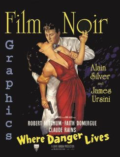 Film Noir Graphics: Where danger lives de Alain Silver et Alain Silver aux éditions Pendagron books
