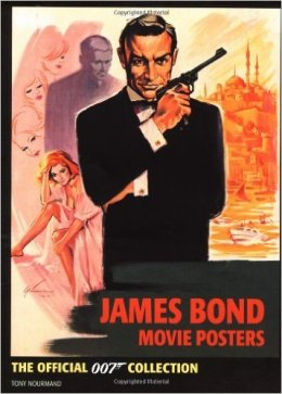 James Bond movie poster par Tony Nourmand aux éditions Boxtree