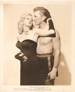 Le champion - Marilyn Maxwell & Kirk douglas (Artistes Associés, 1949). US photo. ©collection Jérôme Rouault