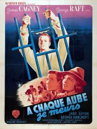A chaque aube je meurs (Warner Bros, 1945). France 120 x 160 Mod B. ©collection Jérôme Rouault