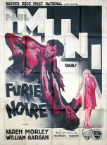 Furie noire (Warner Bros. First National, 1935). France 120 x 160 Mod A.