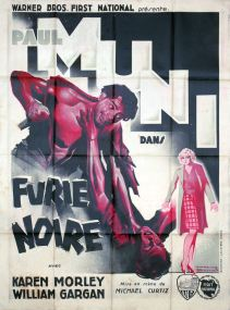 Furie noire (Warner Bros. First National, 1935). France 120 x 160 Mod A. ©collection Jérôme Rouault
