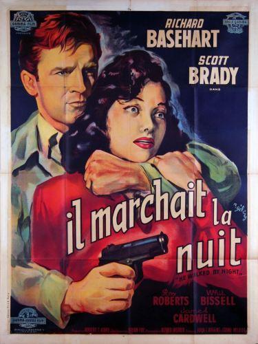 Il marchait la nuit (Gamma, 1948). France 120 x 160 Mod A.
