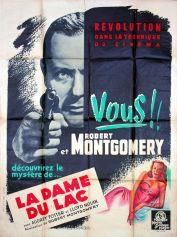 La dame du lac (MGM, 1948). France 120 x 160.