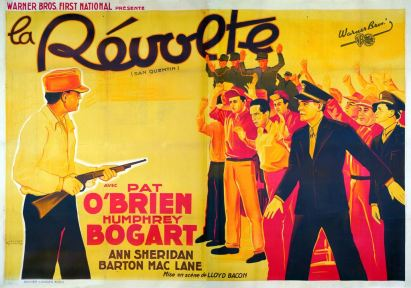 La révolte (Warner Bros. First National, 1937). France 240 x 160.