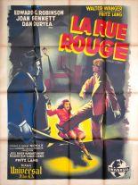 La rue rouge (Universal, 1946). France 120 x 160 Mod B.