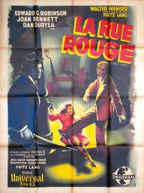 La rue rouge (Universal, 1947). France 120 x 160 Mod B.