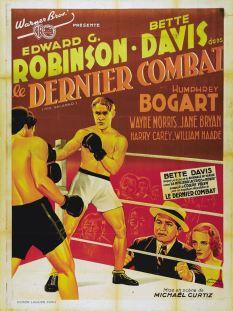 Le dernier combat (Warner Bros. First National, 1937). France 120 x 160 Mod B. ©collection Jérôme Rouault