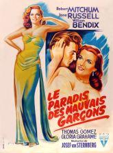 Le paradis des mauvais garçons (RKO, 1952). France 120 x 160. ©collection Jérôme Rouault