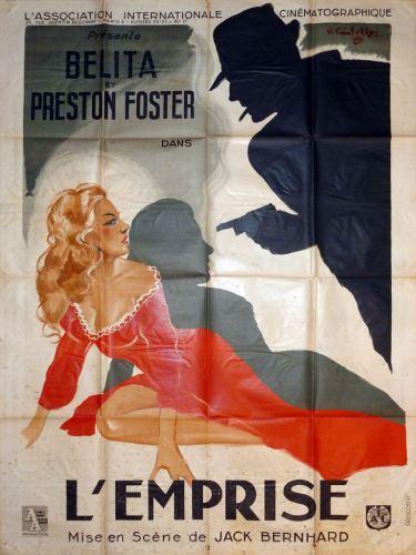 L'emprise (AIC, 1948). France 120 x 160.