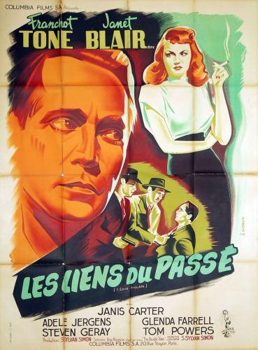 Les liens du passé (Columbia, 1948). France 120 x 160.