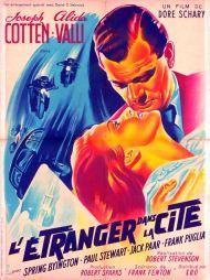 L'étranger dans la cité (SRO, 1951). France 60 x 80. ©collection Jérôme Rouault