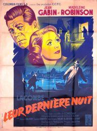 Leur dernière nuit (Columbia, 1953). France 120 x 160 Mod B. ©collection Jérôme Rouault