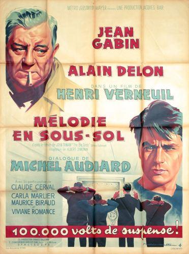 Mélodie en sous-sol (MGM, 1963). France 120 x 160.