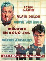 Mélodie en sous-sol (MGM, 1963). France 240 x 320.