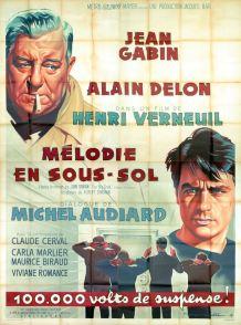 Mélodie en sous-sol (MGM, 1963). France 240 x 320. ©collection Jérôme Rouault