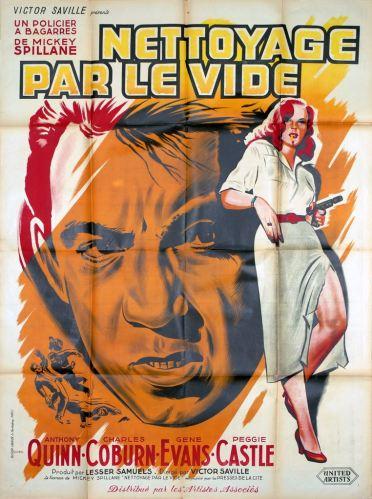 Nettoyage par le vide (Artistes Associés, 1954). France 120 x 160.