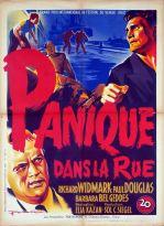 Panique dans la rue (20th Century Fox, 1950). France 60 x 80.