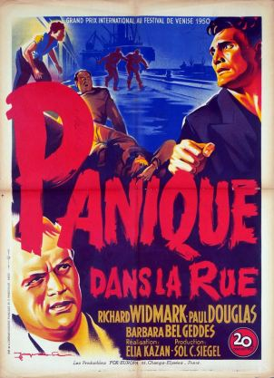 Panique dans la rue (20th Century Fox, 1950). France 60 x 80.