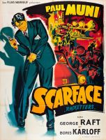 Scarface (Marboeuf, R-1954). France 120 x 160.