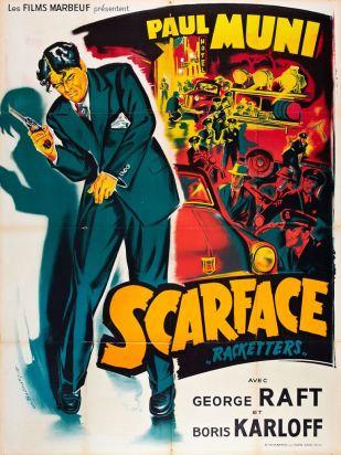 Scarface (Marboeuf, R-1954). France 120 x 160.
