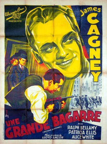 Une grande bagarre (Warner Bros, 1933). France 120 x 160 Mod A.