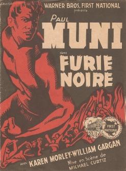 Furie noire (Warner Bros, 1935). France scénario.