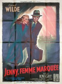 Jenny, femmes marquée (Columbia, 1949). France 120 x 160.