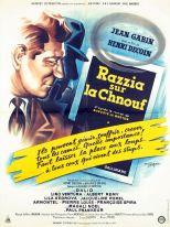Razzia sur la chnouf (Gaumont, 1954). France 60 x 80.