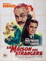La maison des étrangers (20th Century Fox, 1949). France 120 x 160.