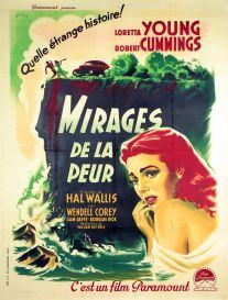 Mirages de la peur (Paramount, 1950). France 120 x 160.