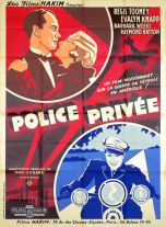 Police privée (Hakim 1934). France 120 x 160.