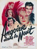 Angoisse dans la nuit (Paramount, 1948). France 60 x 80.
