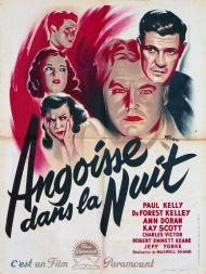Angoisse dans la nuit (Paramount, 1948). France 60 x 80. ©collection Jérôme Rouault