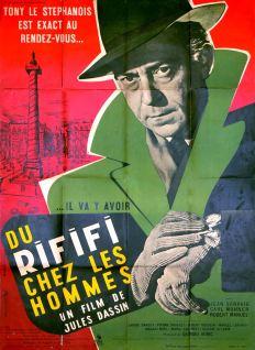 Du rififi chez les hommes (Pathé, 1955). France 120 x 160 Mod A. ©collection Jérôme Rouault