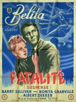 Fatalité (AIC, 1948). France 120 x 160.