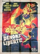 Les démons de la liberté (Universal, 1948). France 120 x 160. ©collection Jérôme Rouault