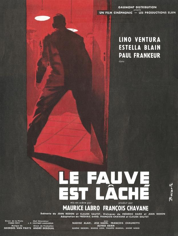 Le fauve est lâché (Gaumont, 1959). France publicité.