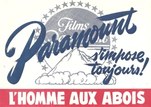 L'homme aux abois (Paramount, 1949). France DP.