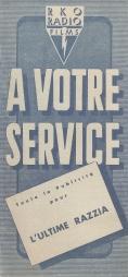 L'ultime razzia (RKO, 1956). France DP. ©collection Jérôme Rouault