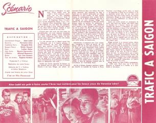 Trafic à Saïgon (Paramount, 1949). France DP.