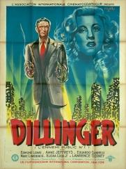Dillinger (AIC, 1947). France 120 x 160 Mod A. ©collection Jérôme Rouault