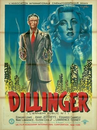 Dillinger (AIC, 1947). France 120 x 160 Mod A.