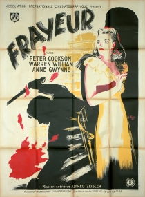 Frayeur (AIC, 1948). France 120 x 160.