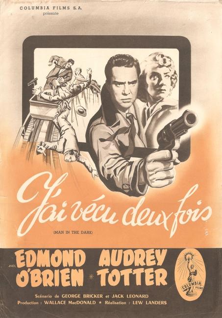 J'ai vécu deux fois (Columbia, 1953). France DP. ©collection Jérôme Rouault