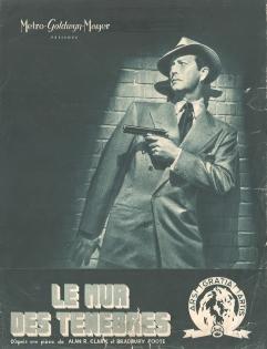 Le mur des tenebres (MGM, 1949). France DP.