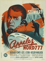 Appelez nord 777 (Fox, 1948). France 120 x 160 Mod A.