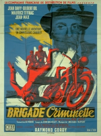 Brigade criminelle (CFDF, 1947). France 120 x 160 Mod B.