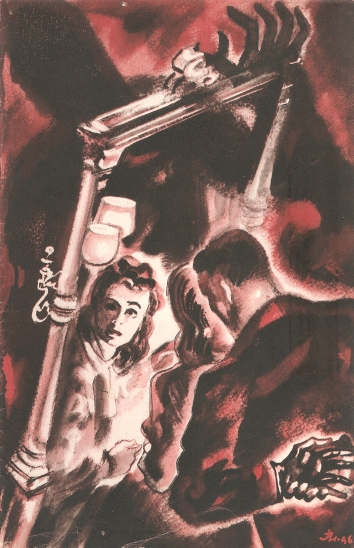 Deux mains, la nuit…(RKO, 1947). France DP.